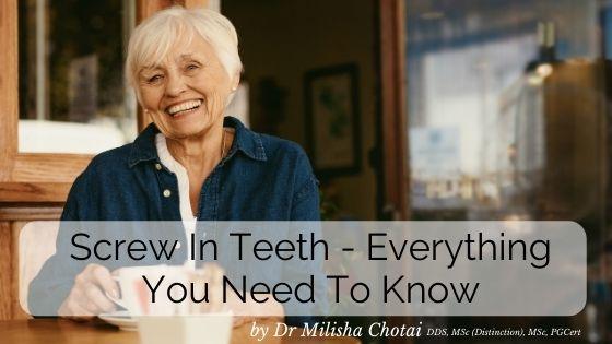 screw in teeth