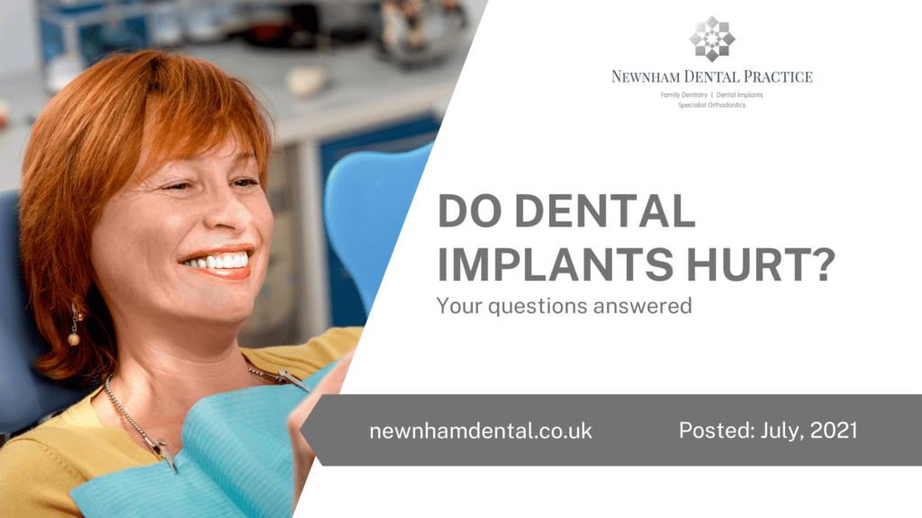 Do Dental Implants Hurt?